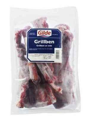 Prøv også Gilde svin grillben.