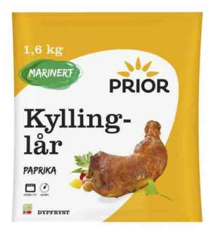 Prøv også Prior Kyllinglår paprika.