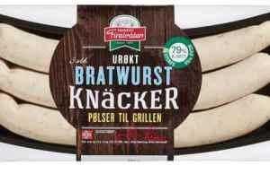 Prøv også Finsbråten urøkt bratwurst knacker.