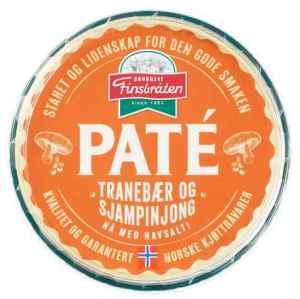 Prøv også Finsbråten pate med tranebær og sjampinjong.