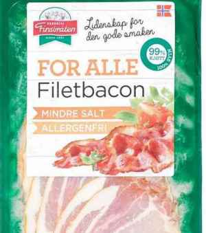Prøv også Finsbråten for alle filetbacon.
