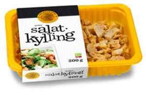 Prøv også Den stolte hane grillet salatkylling.