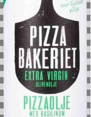 Prøv også Pizzabakeriet pizzaolje med basilikum.