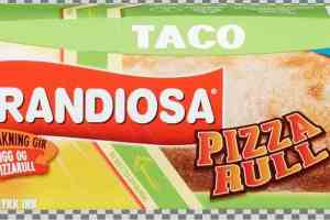 Prøv også Grandiosa pizzarull taco.