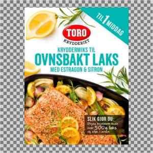 Prøv også Toro krydder ovnsbakt laks.