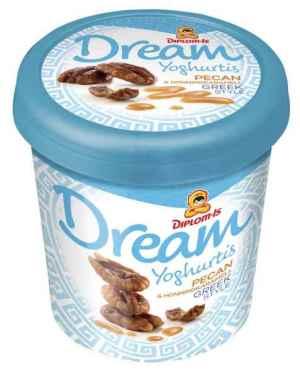 Prøv også Diplom Dream greek style pecan og honningkaramell.