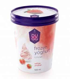 Prøv også Hennig Olsen Dugg Frozen Yoghurt jordbær.