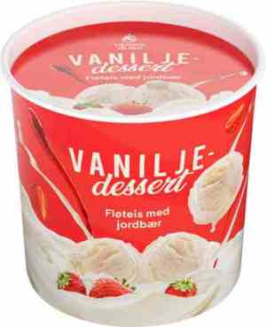 Prøv også Hennig Olsen vaniljeisdessert.