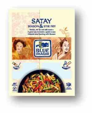 Prøv også Blue Dragon Woksaus Duo Satay.