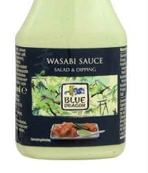 Bilde av Blue Dragon wasabi-dressing.