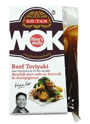 Prøv også Go-tan Woksaus beef teriyaki.