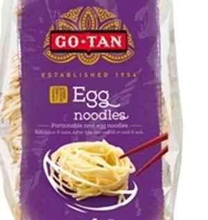 Bilde av Go-Tan Eggnudler nøste.