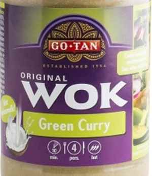 Prøv også Go-Tan Woksaus Green Curry.