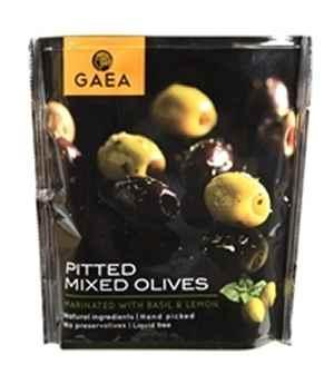 Bilde av Gaea Oliven mix m/basilikum & sitron.