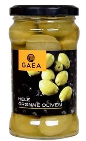 Prøv også Gaea grønne oliven med sten.