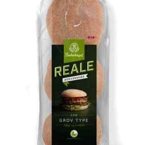Prøv også Bakehuset reale grove hamburgerbrød.