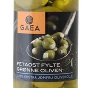 Prøv også Gaea Grønn Oliven med fetaost.