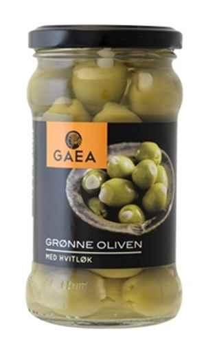 Prøv også Gaea Grønne Oliven med hvitløk.