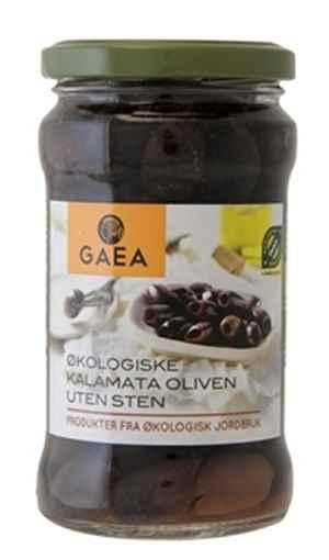 Prøv også Gaea Økologisk Kalamata Oliven uten sten.