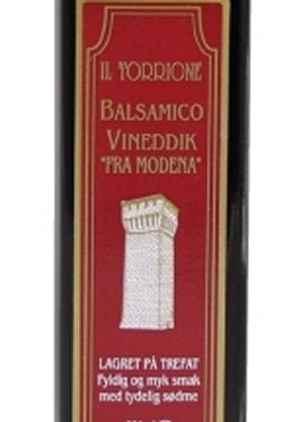 Prøv også Il Torrione Balsamico Vineddik.