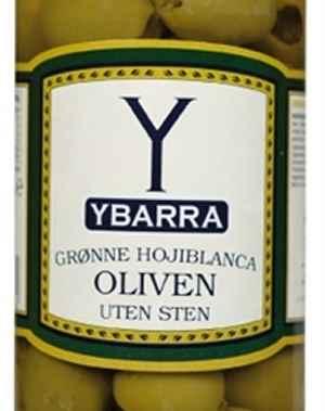 Prøv også Ybarra Grønne oliven uten sten.