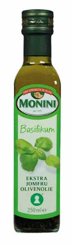 Prøv også Monini Olivenolje Extra Virgin med basilikum.