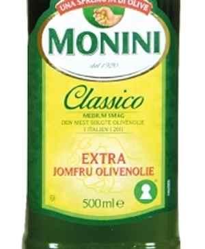 Prøv også Monini Olivenolje Classico Extra Virgin.