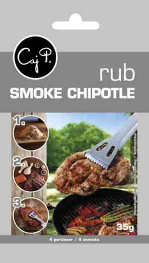Bilde av Caj P. Smoke chipotle rub.