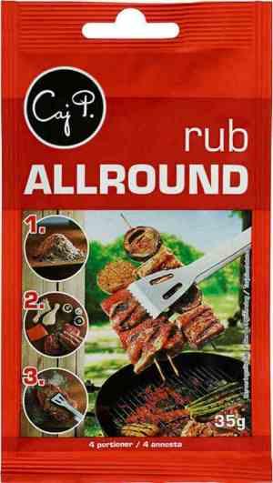 Prøv også Caj P. Allround rub.
