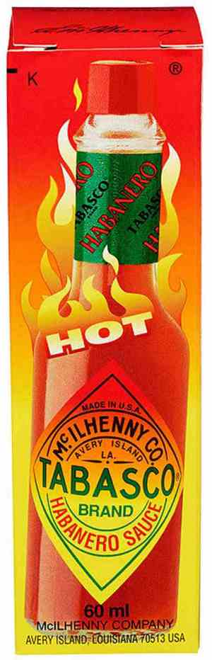 Bilde av Tabasco Brand Habanero Pepper Sauce.
