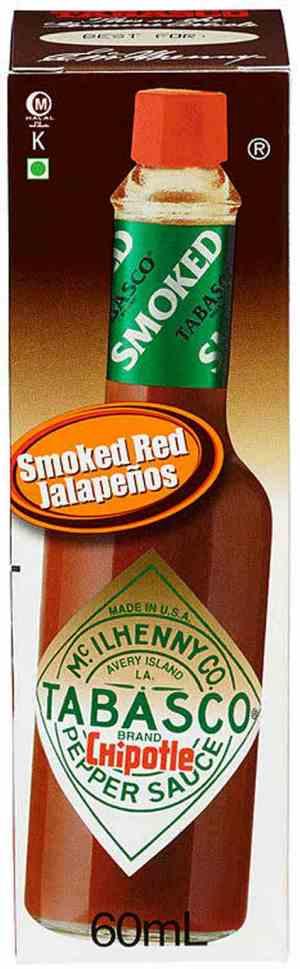 Bilde av Tabasco Brand Chipotle Pepper Sauce.