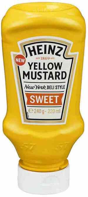 Prøv også Heinz Yellow Mustard sweet.