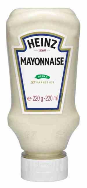 Prøv også Heinz Mayonnaise.