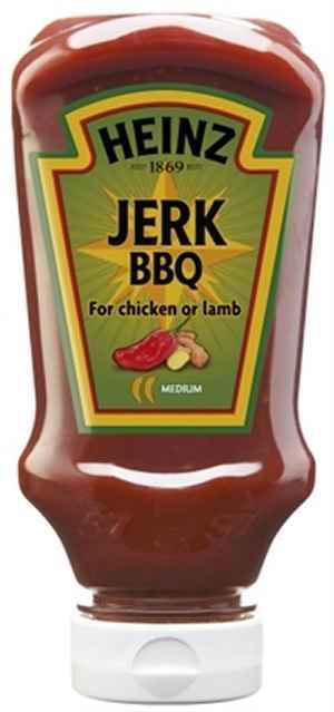 Prøv også Heinz Jerk BBQ Sauce.