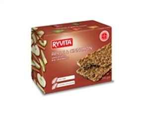 Prøv også Ryvita Knekkebrød eple & kanel.