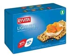 Bilde av Ryvita lys rug knekkebrød.
