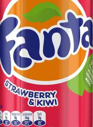 Prøv også Fanta Strawberry and Kiwi.