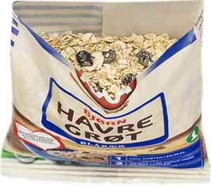 Prøv også Axa Bjørn Havregrøt med blåbær.