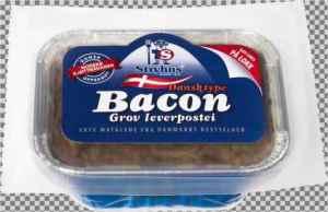 Prøv også Stryhns grov baconpostei.