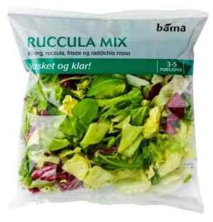 Prøv også Bama rucculamix.