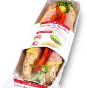 Prøv også Bama VelValgt baguette med gouda og skinke.