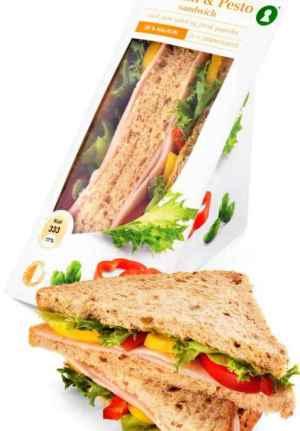 Prøv også Bama VelValgt sandwich med kalkun og pesto.