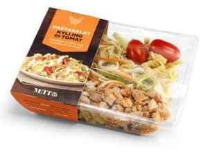 Prøv også Bama mett og go salat med pasta, kylling og tomat.