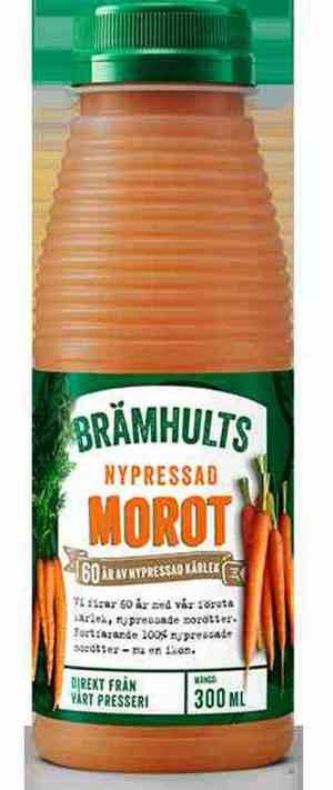 Prøv også Bramhults nypresset gulrotjuice.