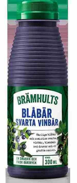 Prøv også Bramhults blåbær/solbærdrikk.