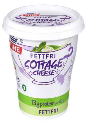Prøv også Tine Cottage Cheese fettfri.