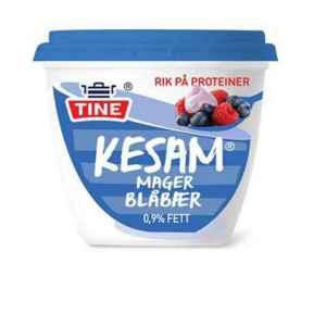 Prøv også Tine Kesam Mager blåbær.
