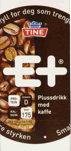 Prøv også Tine E+ drikk kaffe.