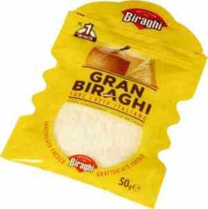 Prøv også Grana Biraghi fersk revet.