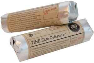 Prøv også Tine Ekte geitesmør.